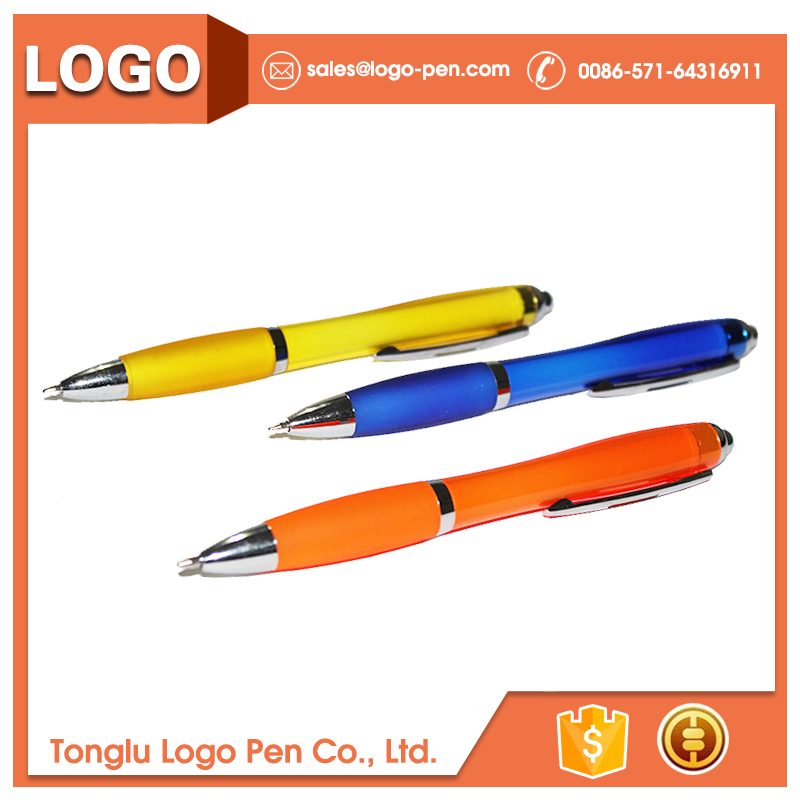 pen gel flower pen plastic promot pen