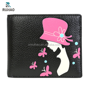 High Grade Quality Women Purses Genuine Leather Wallets