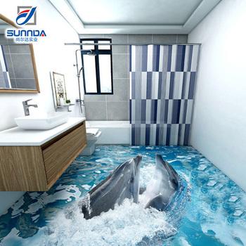 Blue Beautiful Seaworld 3d Tiles,3d Decortaion Porcelain ...
