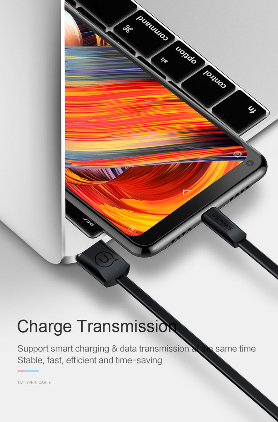 Amazon Top Sales 100% originele fast charger 4.5 v 5A usb-c usb kabel, usb 3.1 type C kabel voor huawei