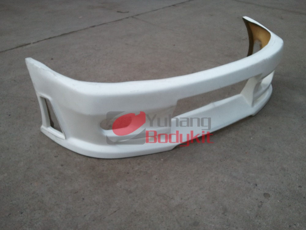 Auto Turning High Quality Fiber Glass FRP Bodykit Fit For Skyline R33 GTST JP Front Bumper