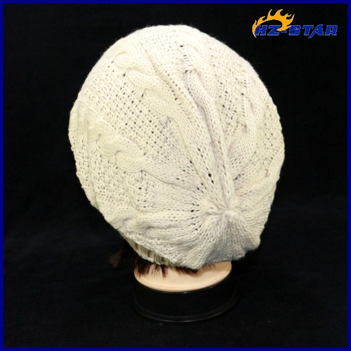 HZM-13558023 New 2015 warmer man baseball hot sell wholesale crochet winter handmade 100% acrylic knitted hairy beanie hat