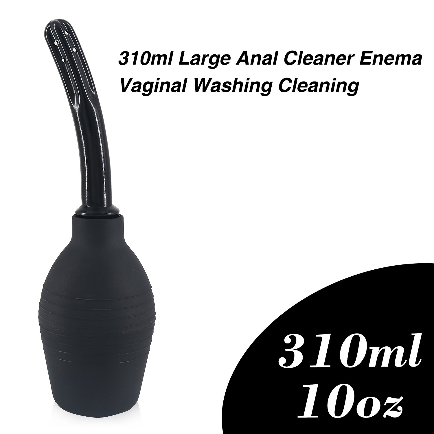 Enemas Anal Douche Bag Douches - Enema Bulb 310ml Large Anal Cleaner Douche Bottle Kit Medical Douche Bottle Vaginal Colon Douche for Men and Woman Vaginal Washing Cleaning Kit