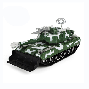 Brand new educational mini toys plastic tank model with light and music