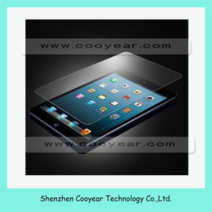 Premium Tempered glass screen protector for ipad mini glass protector film