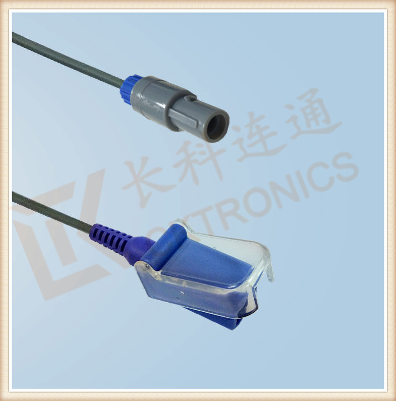 Wholesale <strong>Copper</strong> Blue Mindray 6 Pin Spo2 cable For Patient monitor