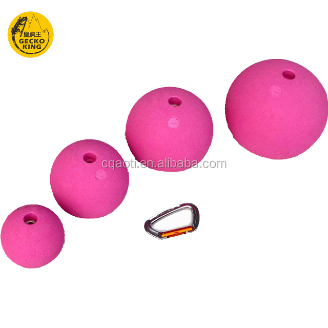 Geckoking GK154 rock climbing wall training balls holds