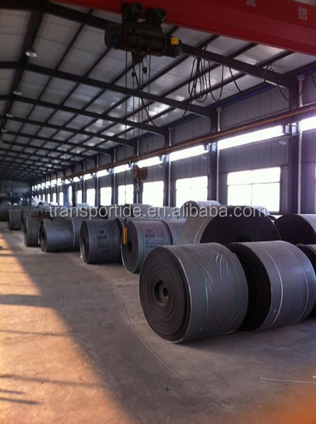 ISO certified steel cord rubber conveyor belt