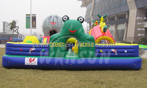 with high reputation inflatable ocean world fun city for sale with CE EN71 approved for outdoor use