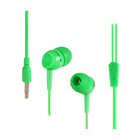 Mp3 Cute Plastic Earphones Promotional MP3 MP4 Players Cute Earphones With Plastic Case