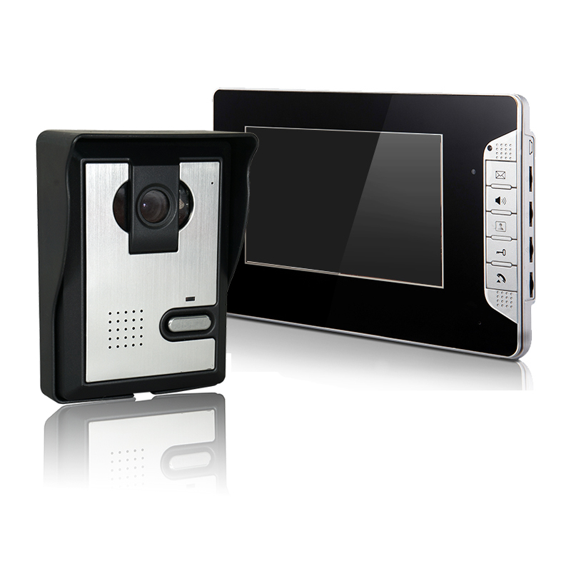 "7 ""Schermo LCD A Colori Smart Home Video Campanello"