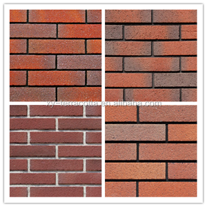 decorative out door wall tiles customised multi color split brick soft ceramic wall tiles