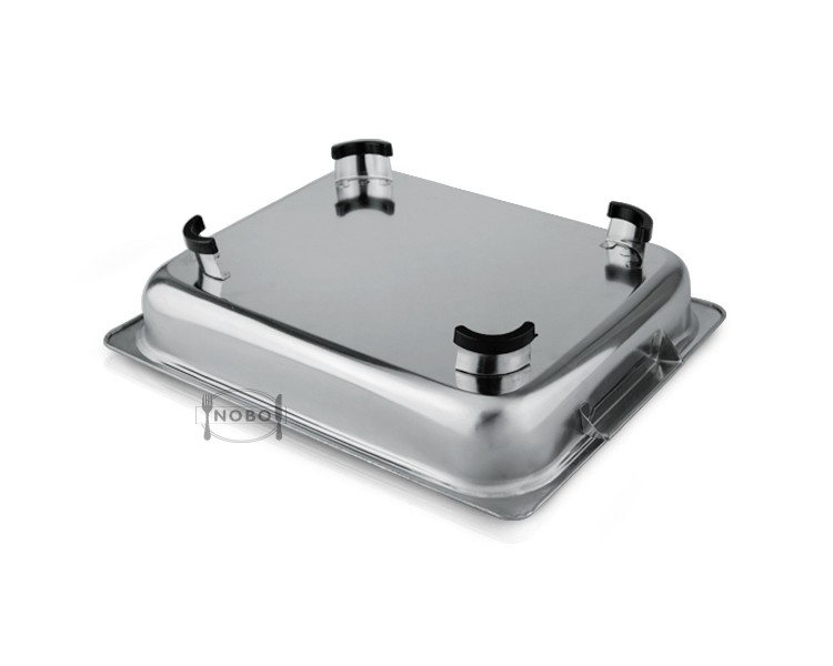 Wholesale cheap stainless steel food tray /serving tray /buffet chafing dish