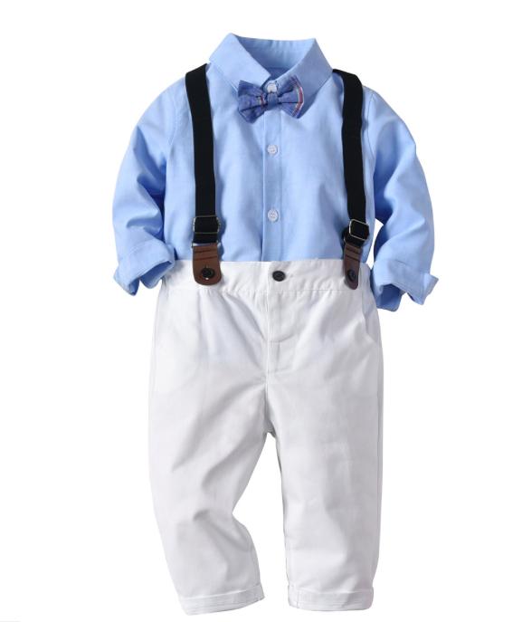 38b7e6f78 2018 niños de moda trajes chaquetas de boda bebé niño trajes conjuntos  Formal de niño de