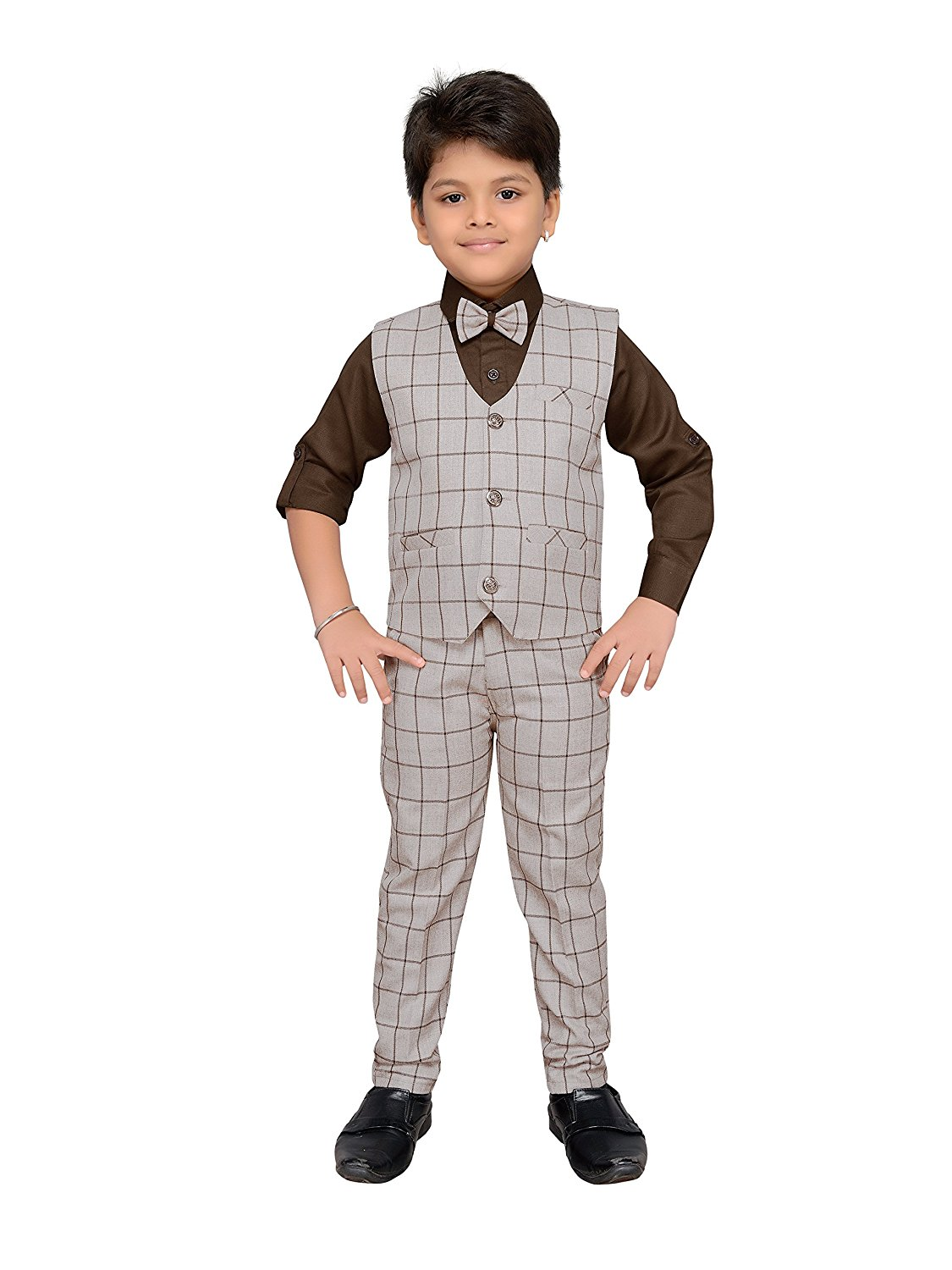 c62321e2857 Get Quotations · AJ Dezines Kids Indian Party Wear Bollywood Style Clothing  Set For Baby Boys