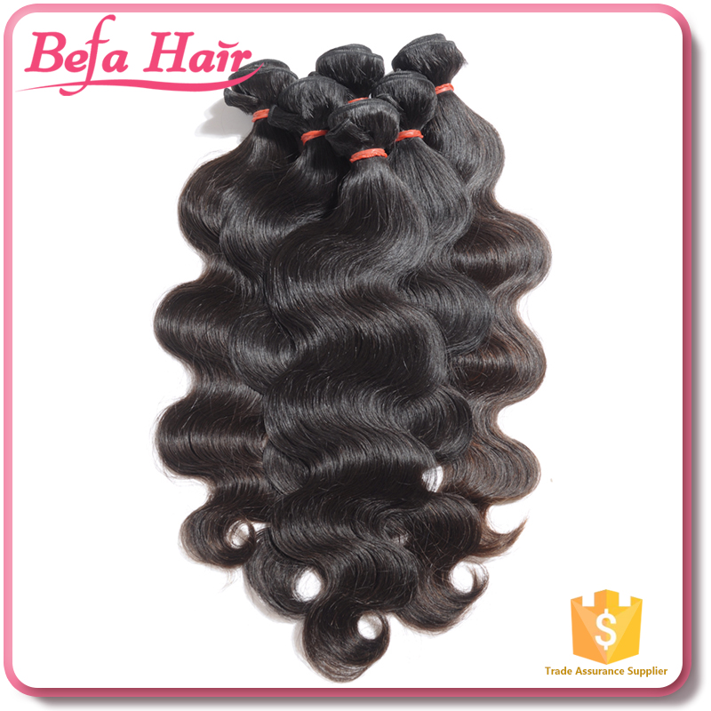 Befa Hair body wave 7a 8a no chemical processed raw cambodian hair unprocessed virgin