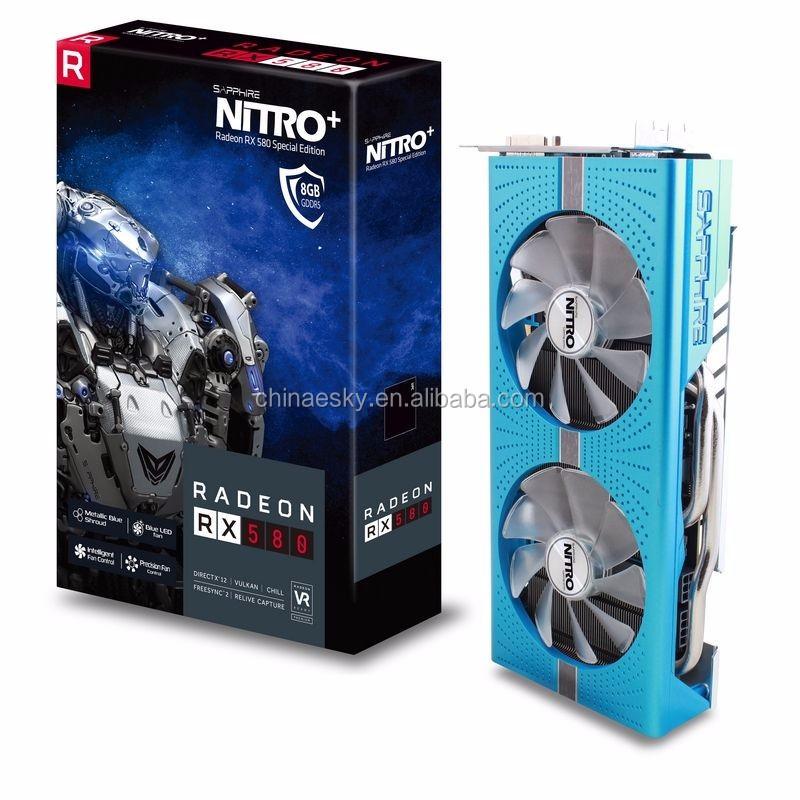 Radeon RX 580 8GD5 Graphics Card Sapphire NITRO