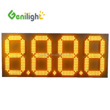 "Outdoor Usage 20"" 7 segment 4 Digits LED Gas Price Digital Changer Electric Sign Tube Chip Color Display"