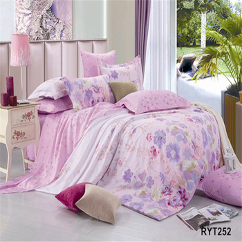 Newest Design Bed Sheet Sets Suppliers In Hong Kong/wholesale Printed  Bedsheet/famous Brand