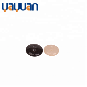 Round smooth resin 2-holes custom shirt button Colors and size customized custom made clothing buttons