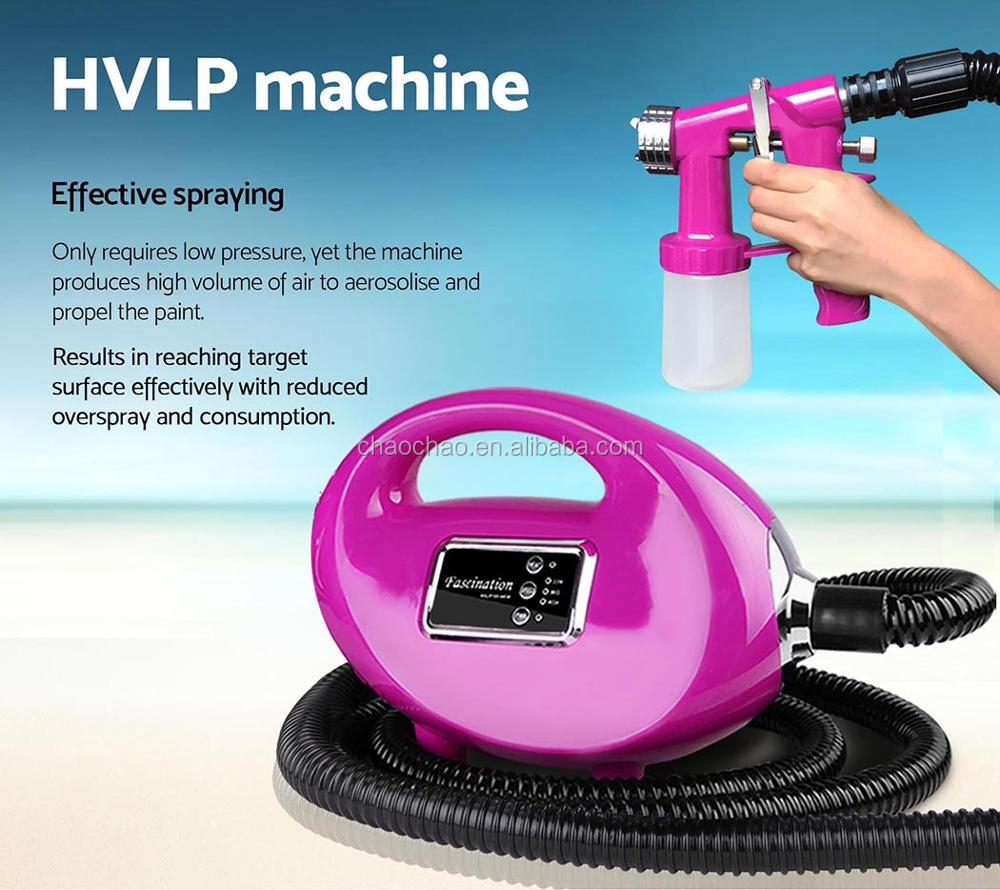 Professional Sunless Dha Spray Tanning Machine New Model