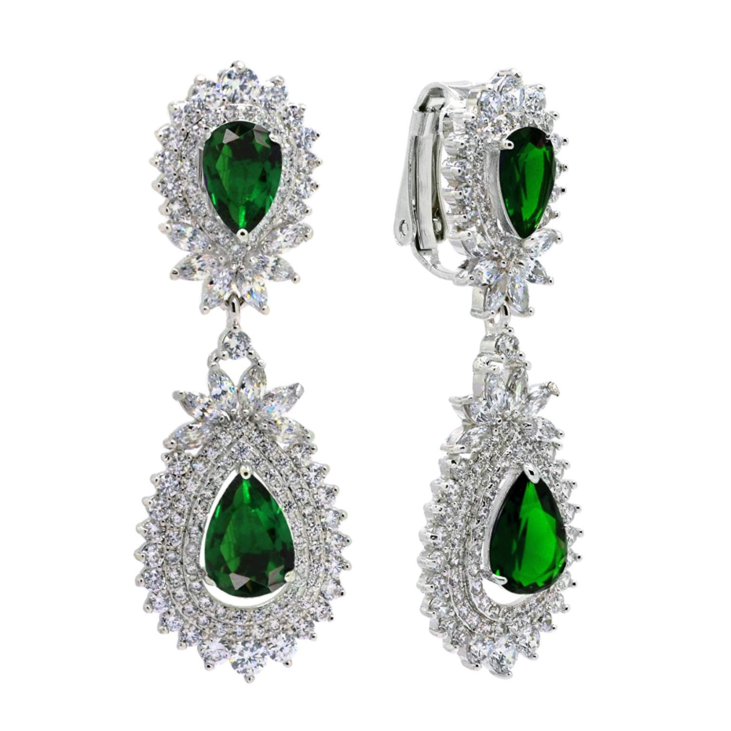 78ccd0775079f Cheap Sparkly Green Earrings, find Sparkly Green Earrings deals on ...