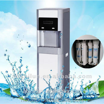 hot u0026 cold water dispenser water cooling machine4 stage water filter