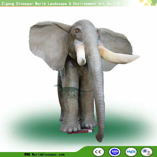 Life Size Rubber Elephant Statues