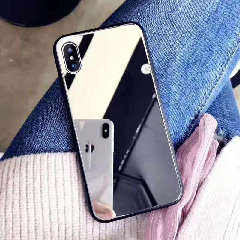 Beauty Smartphone Mirror phone <strong>case</strong> for iphone X <strong>case</strong> phone accessories mobile cover