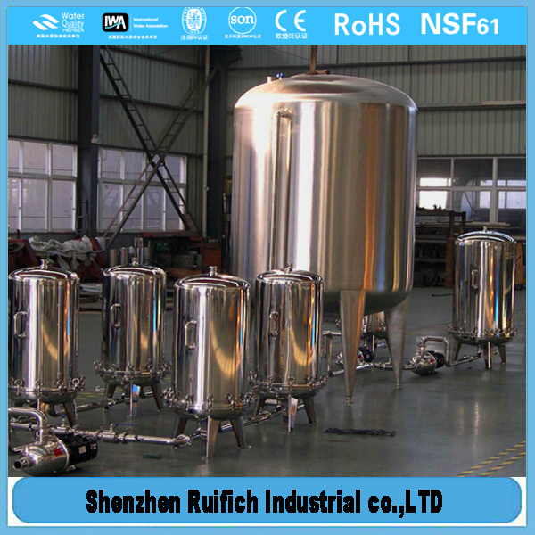 High level of stainless steel mineral tanks,stainless steel modular water tanks,steel modular water tanks