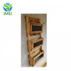 Reclaimed Pallet Wood 3 Pocket Vertical Wall Organizer with Chalkboard Front Mail holder file hold magazine rack