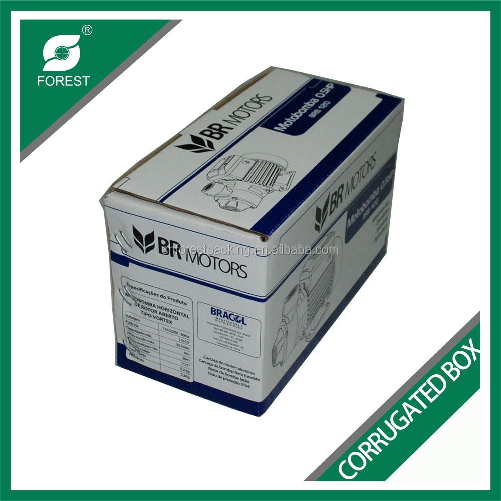 CORRUGATED CARDBOARD 3-PLY CARTON BOX FOR PACKING SMALL MACHINE AND AUTOMOTIVE COMPONENTS MAILER BOX