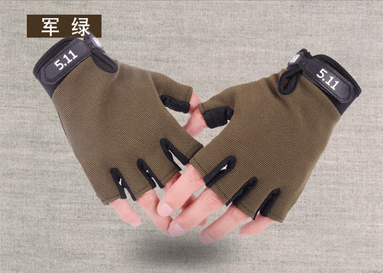 Colorful New Trendy Gel Half Finger Cycling Gloves
