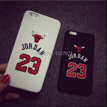 Newest!  No.23 Jordan Basketball PC Cover Case For Apple iPhone 5G 6 4.7″ 6 plus 5.5″ Jumpman Sports Brand Logo Phone Cases