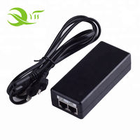 China factory OEM Accepted POE Injector 12v 24v 36v 48v 1a 2a 3a POE Power Adapter with Safety Standard