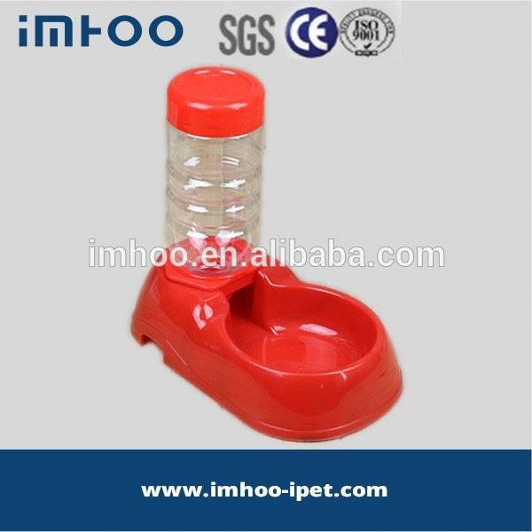 pet portable water feeder large plastic trough