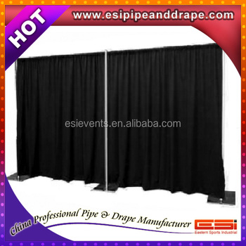 Esi Event Support Or Pipe And Drape Or Backdrop Stand Or Aluminum  Exhibition - Buy Portable Backdrop Stands,Folding Exhibition Stand,Curtains  And