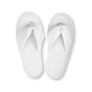 927fe306411 Thong Style Towel Fabric Disposable Hotel Slippers - Buy Thong Style ...