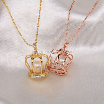 Wholesale gold rose gold plated fashion luxury diamonds paved 925 wholesale gold rose gold plated fashion luxury diamonds paved 925 sterling silver pearl cage pendant mozeypictures Images