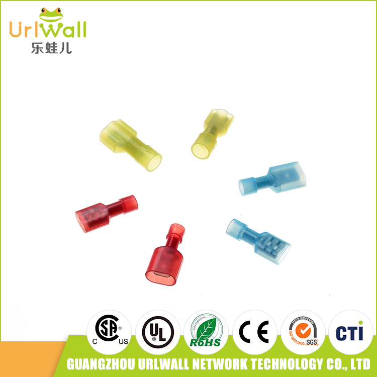 Waterproof Electric Wire Connector Cold Pressing Connection Terminal The Heat Shrinkable Tube Connection White
