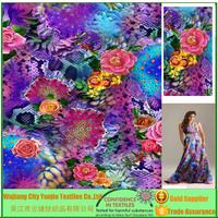 High Quality Digital Print Fabric Textile Printing