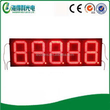 LED Display Facory Gas station 16inch led price changer display