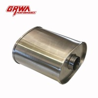 Hot sale racing car ss304 exhaust muffler