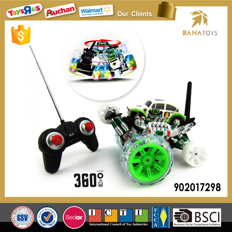 360 Degree Tumbler Toy Rc Stunt Car