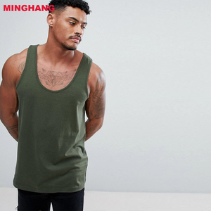 d99739e028acca Men gym wear dry fit training vest custom stringer tank top
