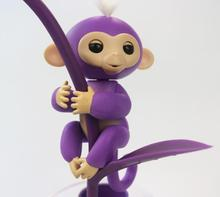 New Design Fingerlings Interactive Baby Monkeys / Smart Colorful Fingers Llings Smart Induction Toys For Kids,