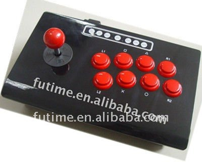 For PS3/PS2/PC 3IN1 WIRED ARCADE STICK/ joystick --FT68C1