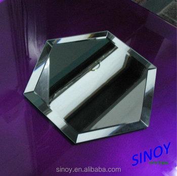 Elegant Wedding Centerpiece Mirrors Mirror Candle Holder