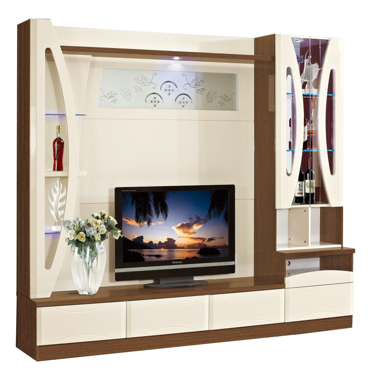 Home TV Wall Units living room MDF wood tv stand Furniture Modern