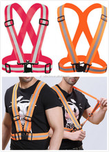 high visible reflective running gear belt / reflective safety sash